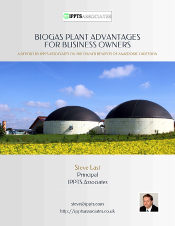 Image of biogas Plant advantages book.
